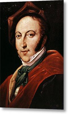 Gioacchino Rossini Metal Print by Granger