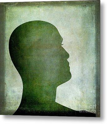 Human Representation Metal Print by Bernard Jaubert