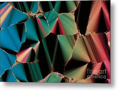 Liquid Crystalline Dna Metal Print by Michael W. Davidson