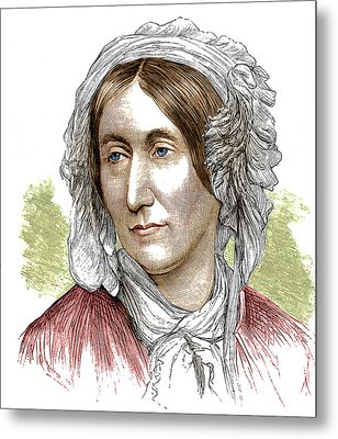 Mary Somerville, Scottish Polymath Metal Print by Science Source