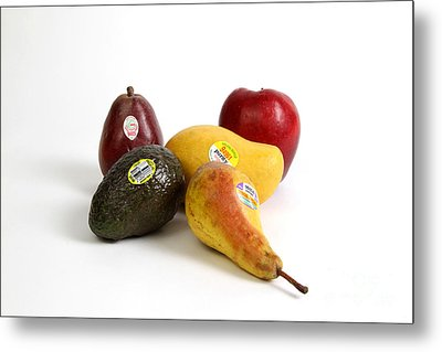 Organic Produce Metal Print by Photo Researchers