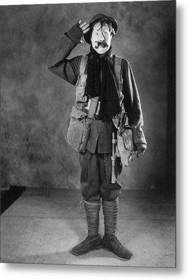 Silent Film Still: Uniforms Metal Print by Granger