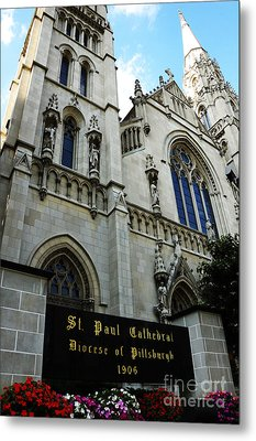 St Paul Cathedral Metal Print by Thomas R Fletcher