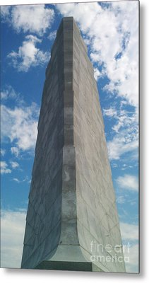 Wright Brothers Memorial Metal Print by Tony Cooper