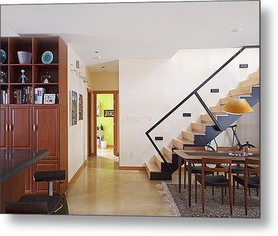 A Home Interior In North Vancouver Metal Print by Marlene Ford
