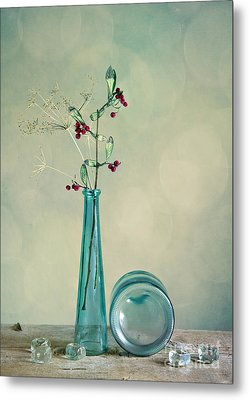 Autumn Still Life Metal Print by Nailia Schwarz