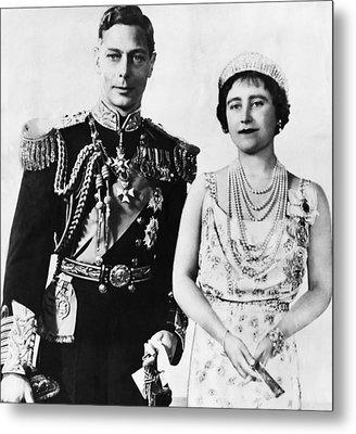 British Royalty. King George Vi Metal Print by Everett
