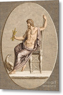 Jupiter, Roman God Metal Print by Photo Researchers