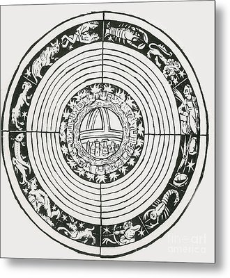 Medieval Zodiac Metal Print by Science Source