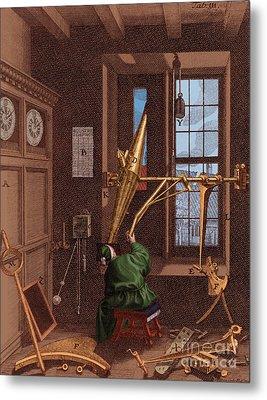 Ole Roemer, Danish Astronomer Metal Print