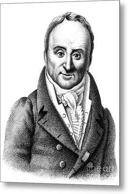 Philippe Pinel, French Physician Metal Print by Science Source