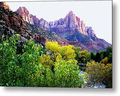 The Watchman Metal Print