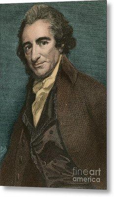 Thomas Paine, American Patriot Metal Print