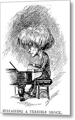 Ignace Jan Paderewski Metal Print by Granger