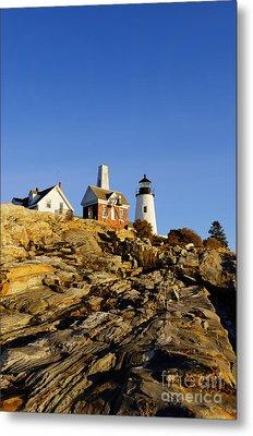 Pemaquid Point Lighthouse Metal Print by John Greim