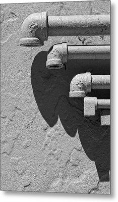 Pipes Metal Print by Robert Ullmann