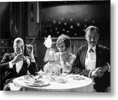 Film Still: Eating & Drinking Metal Print by Granger