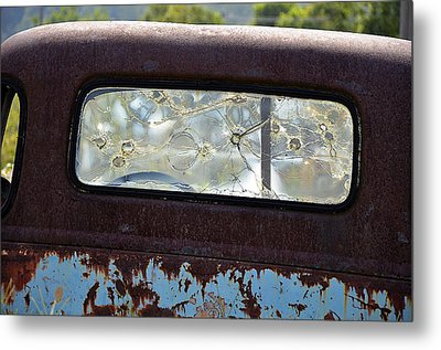 Metal Print featuring the photograph '48 Chevy by Paul Mashburn