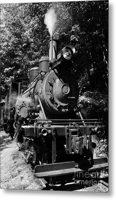 Climax Geared Locomotive Metal Print by Thomas R Fletcher