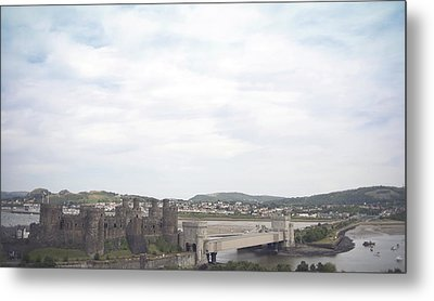 Conwy Castle Metal Print by Christopher Rowlands