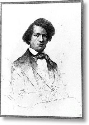 Frederick Douglass, African-american Metal Print