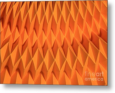 Mathematical Origami Metal Print by Ted Kinsman