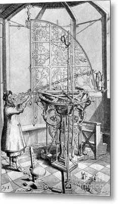 Johannes Hevelius, Polish Astronomer Metal Print by Science Source