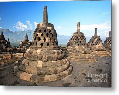 Borobudur Metal Print