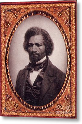 Frederick Douglass African-american Metal Print by Photo Researchers