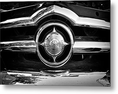 8 In Chrome - Bw Metal Print by Christopher Holmes