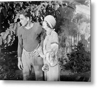 Silent Film Still: Couples Metal Print by Granger