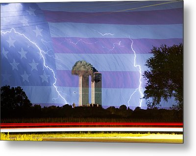 9-11 We Will Never Forget 2011 Metal Print