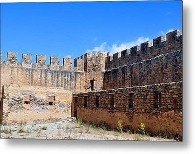 Frangocastello Castle. Metal Print by Fernando Barozza