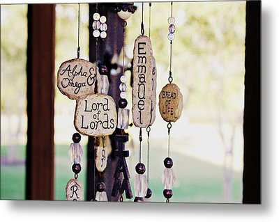 A Chime For God Metal Print by Hannah Miller