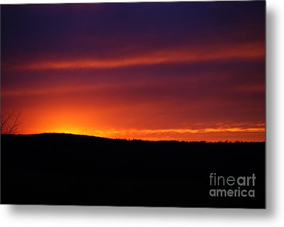 Metal Print featuring the photograph A Day Almost Ended by Julie Clements