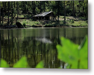 A Day By The Lake Metal Print by Bobby Martin