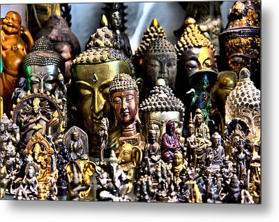 A Gathering Of Buddhas Metal Print by Edward Myers