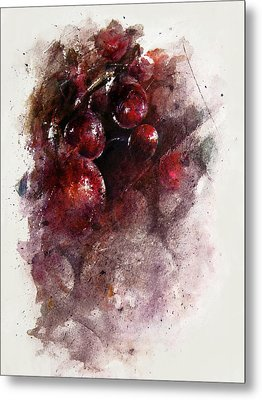 A Grape Mystery Metal Print by Rachel Christine Nowicki