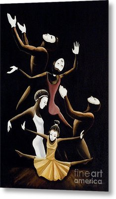 A Mime To Praise Metal Print by Frank Sowells Jr