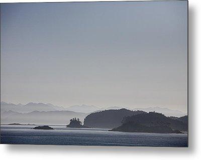 A Misty Afternoon On Haida Gwaii Metal Print by Taylor S. Kennedy