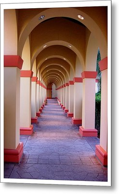 A Most Pleasant Passageway Metal Print