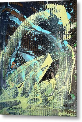 A Private Universe Of Despair Metal Print by Bruce Combs - REACH BEYOND