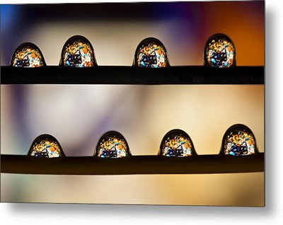 A Treasure Of Dice And Gems Metal Print by Marc Garrido