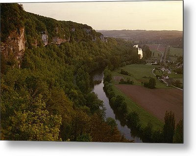 A View Of The Vezere River Valley Metal Print by Kenneth Garrett
