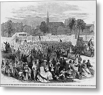 Abolition Of Slavery Metal Print
