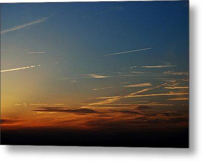 Above Us Only Sky Metal Print by Dean Harte