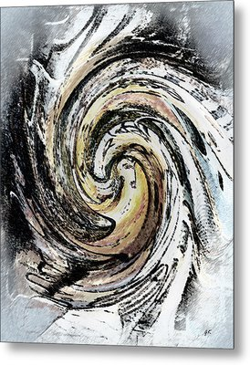 Abstract - Turmoil Metal Print by Gerlinde Keating - Galleria GK Keating Associates Inc