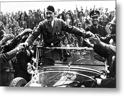 Adolph Hitler, Like Most Politicians Metal Print
