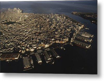 Aerial View Of Old Havana, Havana Metal Print by James L. Stanfield