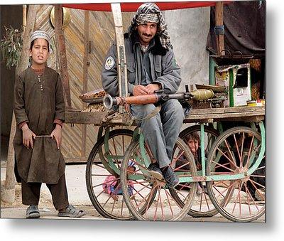 Afghan's Live Metal Print
